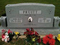 K.T. Marie <I>Payne</I> Pruitt