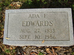 Ada F Edwards