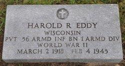 PVT Harold R. Eddy