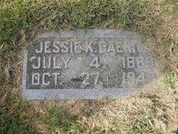 Jessie K. <I>McGinnis</I> Daenitz