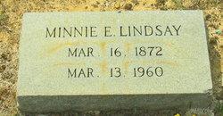 Minnie E. Lindsay