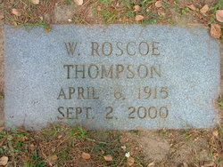 W Roscoe Thompson