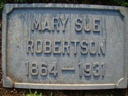 Mary Sue Robertson