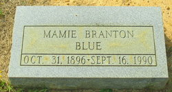 Mamie <I>Branton</I> Blue