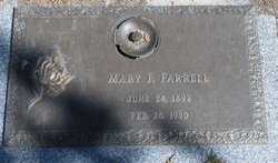 Mary Florence <I>Shockley</I> Farrell