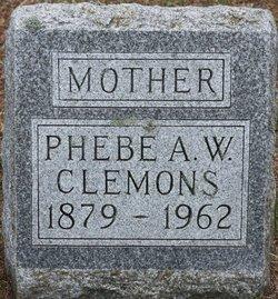 Phebe Ann <I>Ellis</I> Wilson Clemons