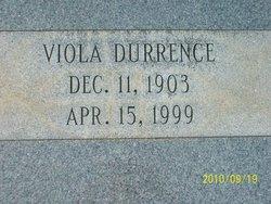 Viola <I>James</I> Durrence