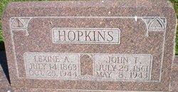 """Lexine Levina """"Lexie"""" <I>Alexander</I> Hopkins"""