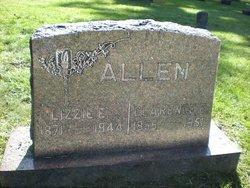 "Elizabeth E. ""Lizzie"" <I>Bice</I> Allen"
