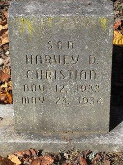 Harvey D Christian