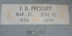 "F.D. ""Billy"" Prescott"
