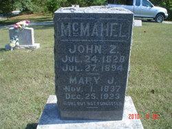 Mary J. <I>Wininger</I> McMahel
