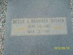 Dessie I. <I>Brannen</I> Dasher