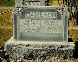 Isabella <I>McIntyre</I> Cameron