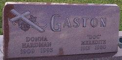 Donna <I>Hardman</I> Gaston