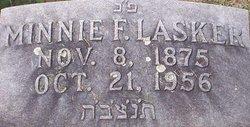 Minnie F <I>Frank</I> Lasker