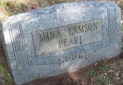 Mina <I>Lamson</I> Pearl