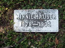 Minnie <I>Merz</I> Hauser