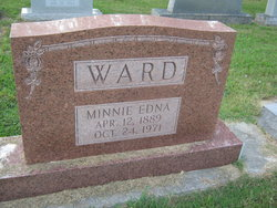 Minnie Edna Ward