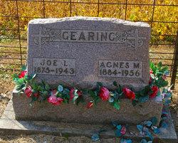 """Joseph Lee """"Joe"""" Gearing"""