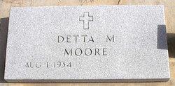 Detta Margaret <I>Eckart</I> Moore