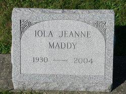 Iola Jeanne Maddy