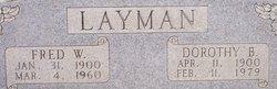 Dorothy Barbara <I>Burkle</I> Layman