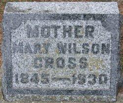 Mary Wilson <I>Crawford</I> Cross
