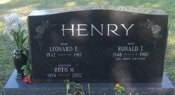 Ronald T Henry