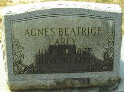 Agnes Beatrice <I>Green</I> Early