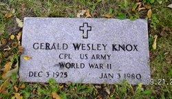 Gerald Wesley Knox