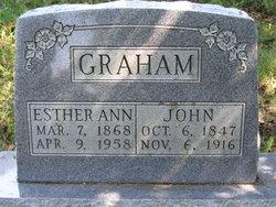 Esther Ann <I>Payne</I> Graham