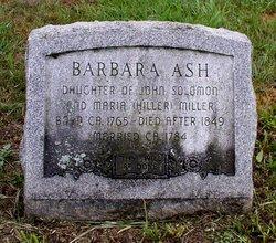 Barbara <I>Miller</I> Ash