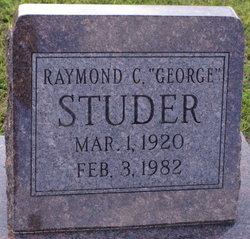 """Raymond C """"George"""" Studer"""
