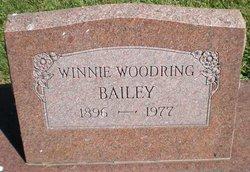 Winnie <I>Woodring</I> Bailey