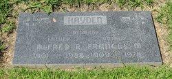 Alfred R Hayden