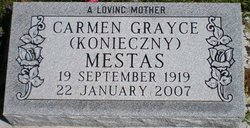 Carmen Grayce <I>Kronieczny</I> Mestas