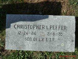 Christopher L Peffer