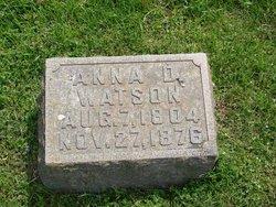 Anna D. Watson