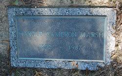 Harold Cameron Marsh