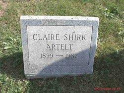 Claire <I>Shirk</I> Artelt
