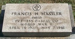 Francis H Hassler