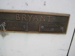 Blaine G Bryant