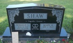 """Donald Lee """"Don"""" Shaw"""