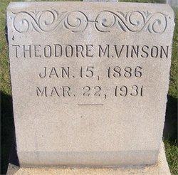 Theodore Monroe Vinson