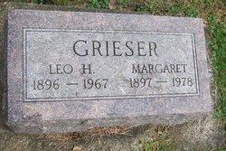 Margaret <I>Waldschmidt</I> Grieser