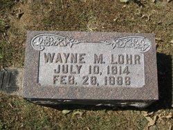 Wayne M Lohr