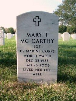 Mary T Mc Carthy