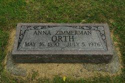 Ann <I>Zimmerman</I> Orth