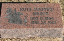Ruth <I>Shepard</I> Hosch